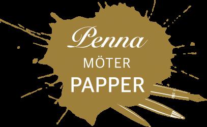 Penna möter papper